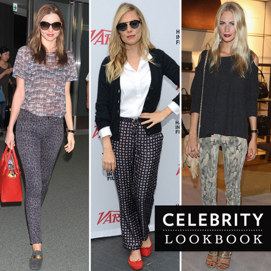 Celebrities-Wearing-Printed-Pants