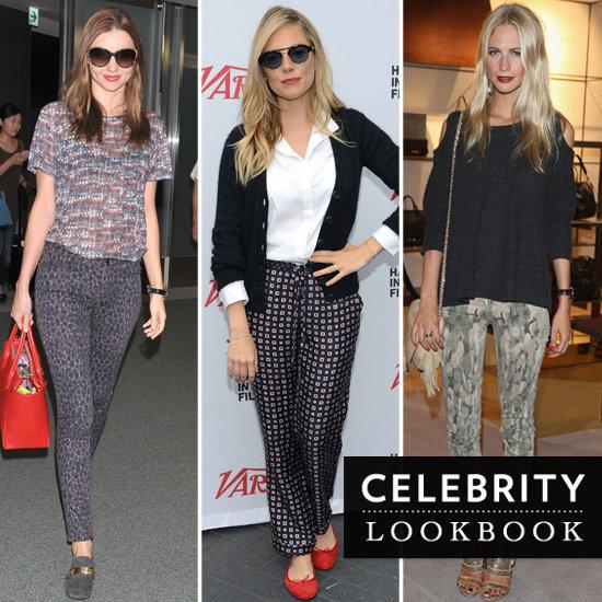 Celebrities-Wearing-Printed-Pants