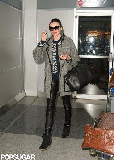 Miranda-Kerr-Wearing-Black-White-LAX