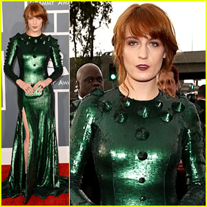 florence-welch-grammys-2013-red-carpet