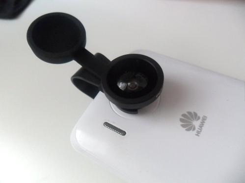 Lens op de gewone camera